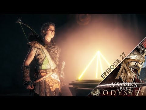 Assassin's Creed Odyssey- GAME ENDING! Ghost of Kosmos Reveal AND CRAZY GLITCH! // Episode 27