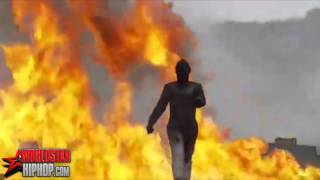 Russian Soldier Tests A Bomb Proof Suit By Walking Through An Exploding Minefield!
