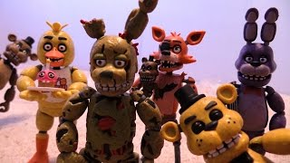 FNAF Funko [Action Figure] Unboxing Wave 1 Complete!!