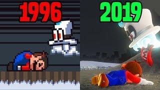 Super Mario Odyssey: 1996 Demake VS 2019 Comparison