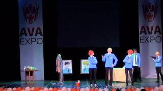 AVA EXPO 2012 (09.09.2012) - Shiro-Kuro Gang - Ouran High School Host Club