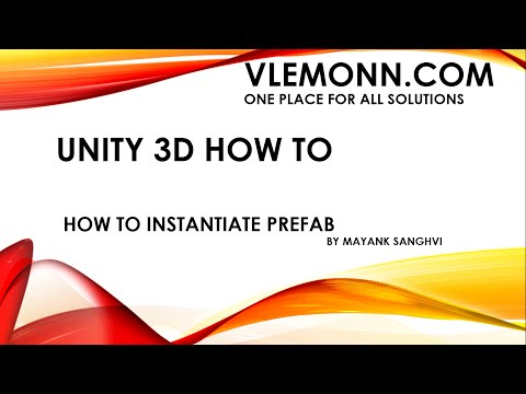 Unity 3D Instantiate Prefab at Runtime