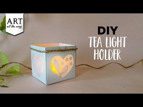 diy-tea-light-holder-|-paper-crafts-|-home-decor
