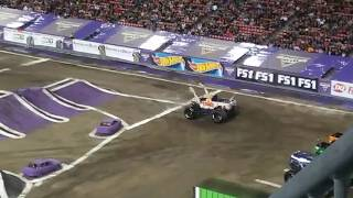 Monster Jam at the Raymond James Stadium, Tamp Bay, Florida