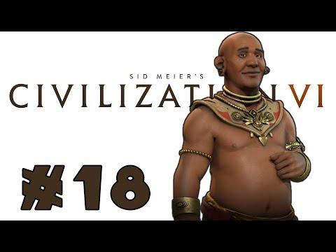 Let's Play: Civilization VI -- Deity Khmer! -- Part 18