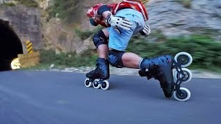 Downhill skating with the Flying Eagle F110