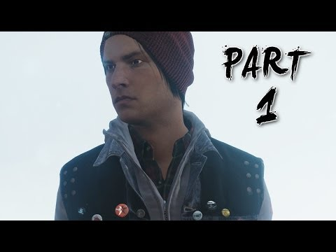 Infamous Second Son Paper Trail Gameplay Walkthrough Part 1 - Origami (PS4)