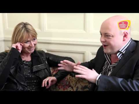 Fern Britton Interview on the Cornwall Channel