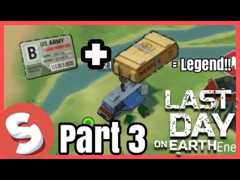 Last Day on Earth - ទទួលបានកាតBunker & Tradeរបស់ពីDealer - Part 3 | SenggaminG