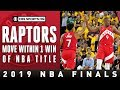 Toronto STUNS Golden State for commanding 3-1 lead | NBA Finals | CBS Sports HQ