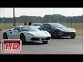 [ Mr Glenn ] Ferrari 488 Spider vs FF vs C63 AMG vs Audi S6 - DRAGRACE!