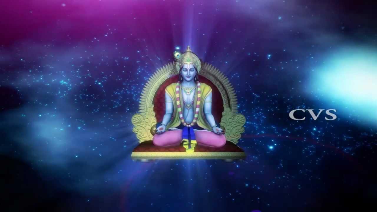 How To Make Animated Wallpaper Beautiful Sri Krishna Dhun Krishnashtakam 3d Animation