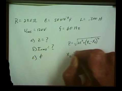 Physics 220 - Lecture 22 - SP2010 - AC Circuits, Capacitive & Inductive Reactance