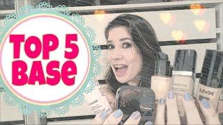 TOP 5 Bases para pele oleosa - Manuela Peixinho