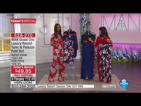 HSN | IMAN Global Chic Fashions 03.19.2017 - 11 AM