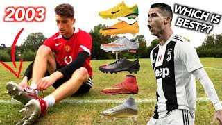 Testing ALL of Cristiano Ronaldo's Football Boots (2003-2019)