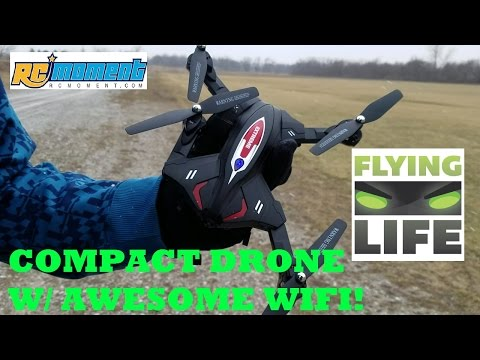 Compact Portable Drone With Amazing WIFI ! Skytech TK110HW RCMOMENT.COM