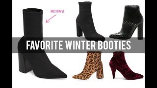 FAVORITE BOOTIES OF ALL TIME | PERFECT WINTER BOOTIES