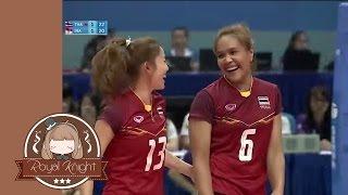 Highlight !! อรอุมา สิทธิรักษ์ VS Aprilia Santini Manganang