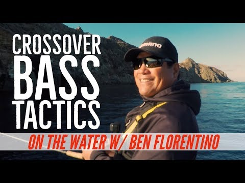 Crossover Saltwater and Freshwater Bass Fishing with Ben Florentino