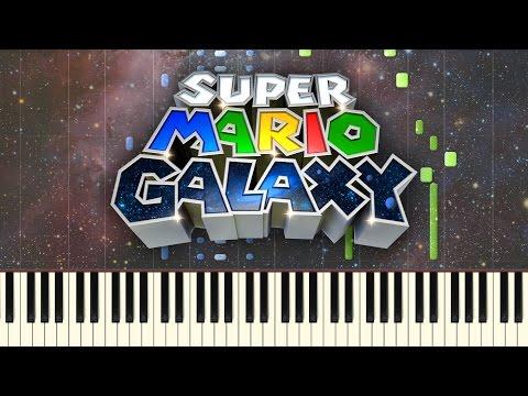 Super Mario Galaxy - Gusty Garden Galaxy [Synthesia]