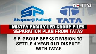 Shapoorji Pallonji Group Files For Separation From Tatas