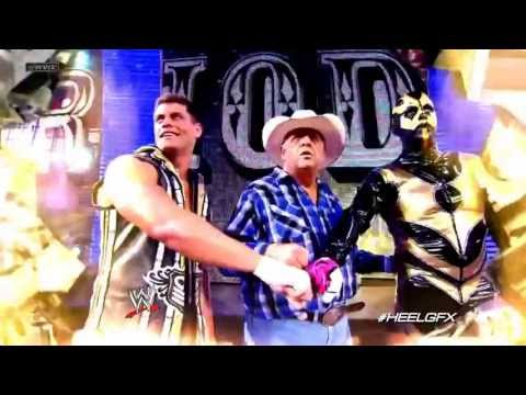 2013: Cody Rhodes & Goldust 2nd WWE Theme Song (& Titantron) -