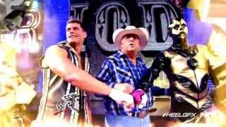 "2013: Cody Rhodes & Goldust 2nd WWE Theme Song (& Titantron) - ""Gold And Smoke"