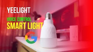Yeelight Smart LED Bulb: Can listen to You