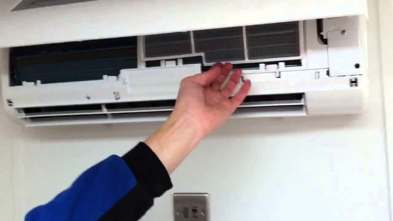 Ben Shows How To Clean Air Conditioning Filters Youtube