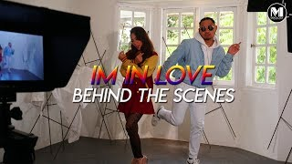 Eleena Harris Ft. Faezal - Im In Love  Behind The Scenes
