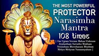 Powerful Narasimha Kavacham Mantra - Ugram Veeram Maha Vishnum 108 Time | Narasimha Kavacha Stotra