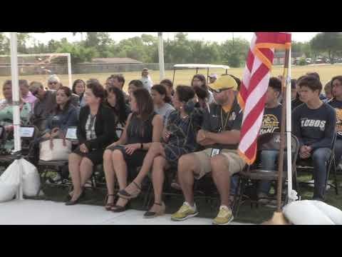 Besteiro Middle School Track Ribbon Cutting Ceremony
