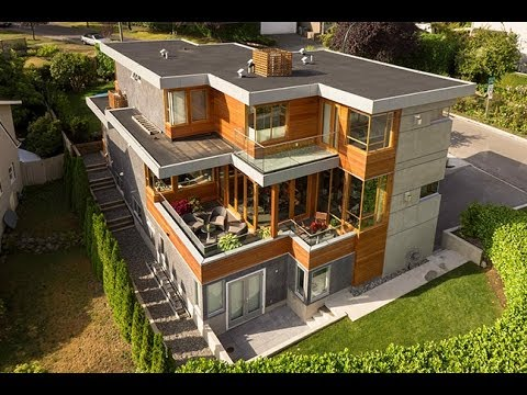 Vancouver West Side Modern Contemporary Architectural Home