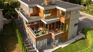 Vancouver West Side Modern Contemporary Architectural Home For Sale At 3608 Quesnel Drive