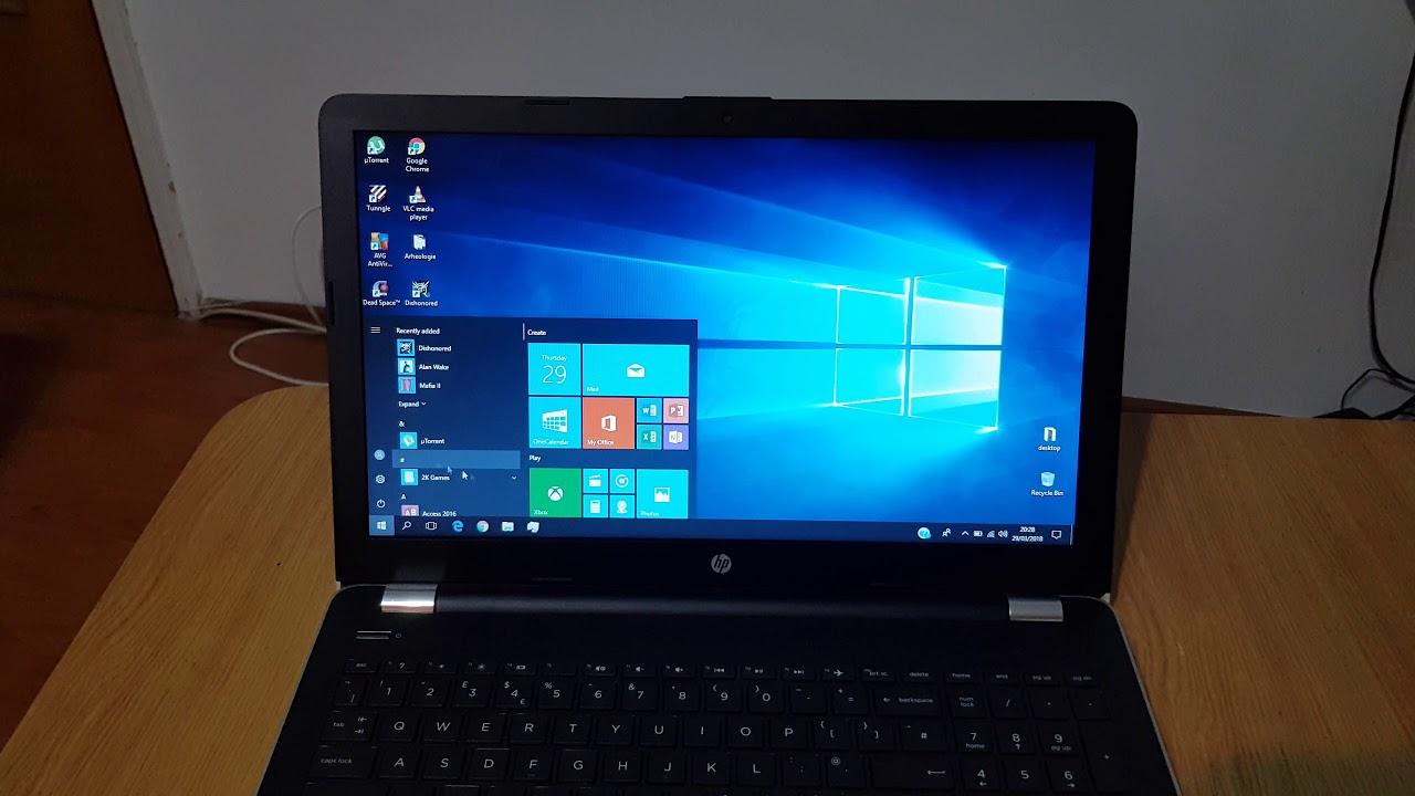 scurt review laptop hp 3168ngw cu i5 si 8gb ram in limba romana
