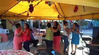 Festejando sus 84 años. Parral, Chiapas