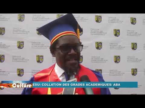 Kinshasa: Collation des grades académiques à l'Académie des Beaux Arts