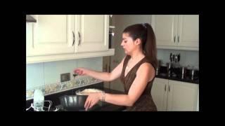 Cocinando con Cristina Silva, receta Pudim Molotov