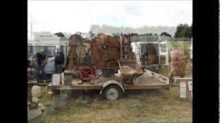 Stationary Engines at Northleach Steam & Vintage Show 2013