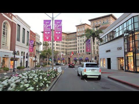 Los Angeles 4K - Sunset Drive - USA