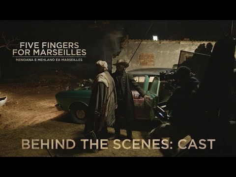 Behind The Scenes: 'Five Fingers For Marseilles' Cast