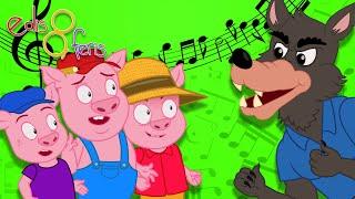 3 Küçük Domuzcuk Masal Şarkısı  YENİ  Edis ile Feris Çizgi Film Çocuk Şarkıları Videoları