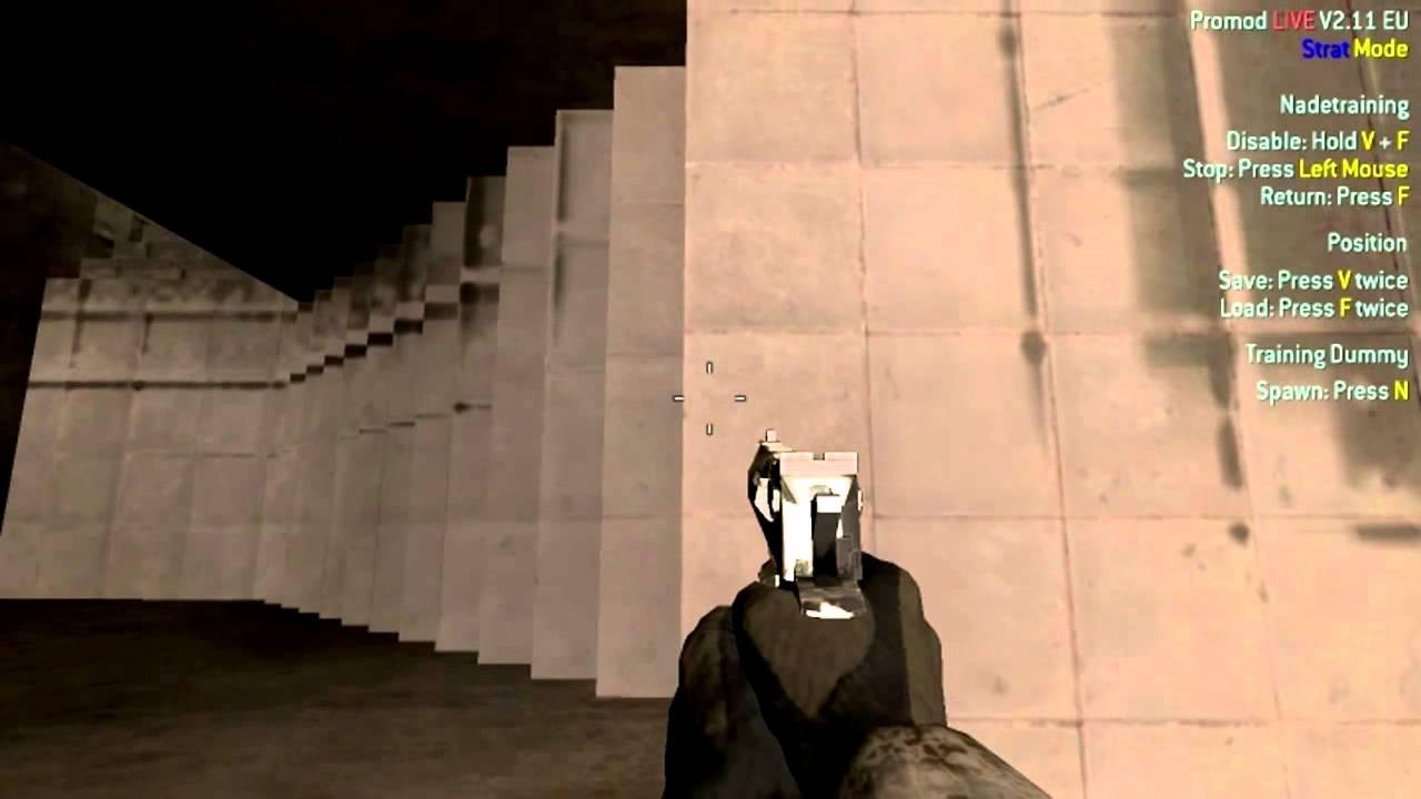 Call of Duty 4 Promod Jump | Script (bind) | Crash, Strike, Pipeline