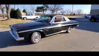 1963 Plymouth Sport Fury Convertible for sale test drive