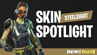 Steelsight Skin Spotlight (Fortnite Battle Royale)