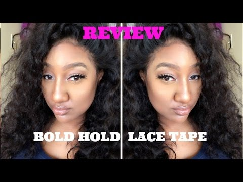 Review Bold Hold Lace Tape Allergic Reaction Iam Nettamonroe