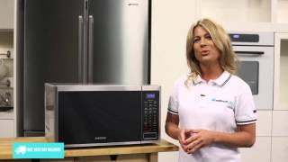 Samsung MS32J5133BTSA Microwave reviewed by product expert - Appliances Online