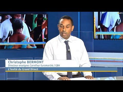Christophe Bermont, Le Directeur Des Hypermarchés Du Groupe Bernard Hayot