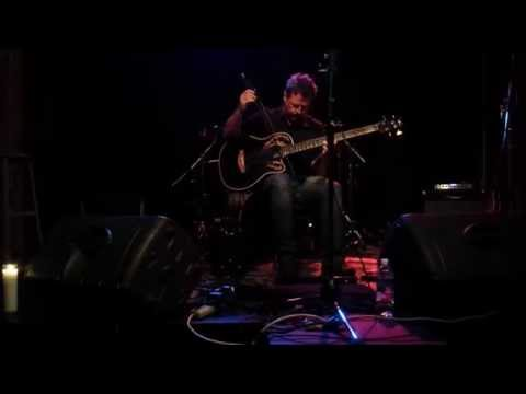 Darin Schaffer loops acoustic bass live at the Jewel Box Theatre in Seattle WA